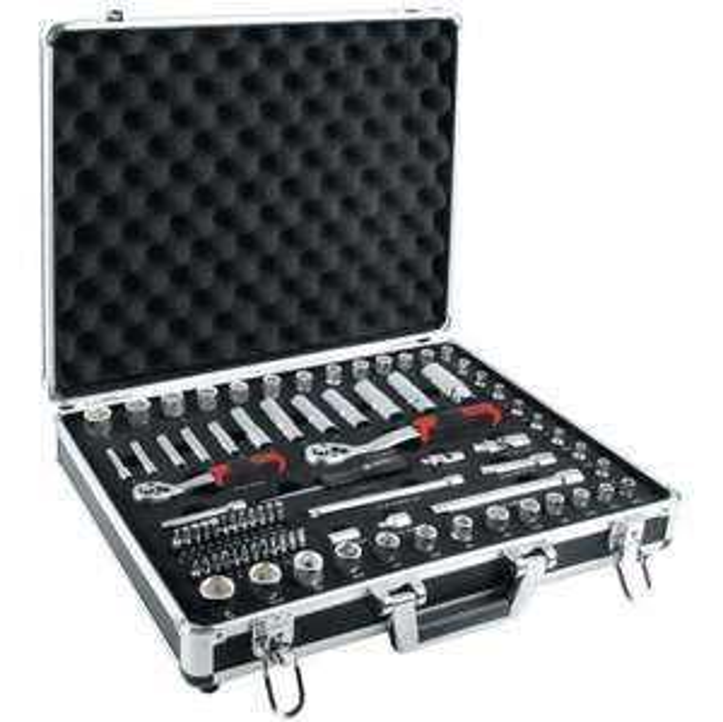 Mallette de dépannage pour mécanique Ampro (81 outils)