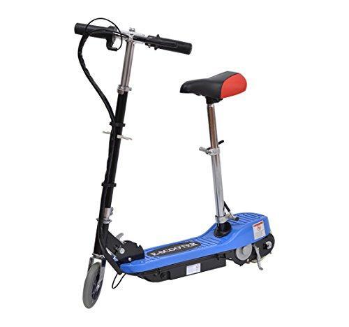 Trottinette électrique E-Scooter (120 W, bleu)
