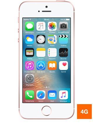"Smartphone 4"" Apple iPhone SE - Or rose, 16 Go"