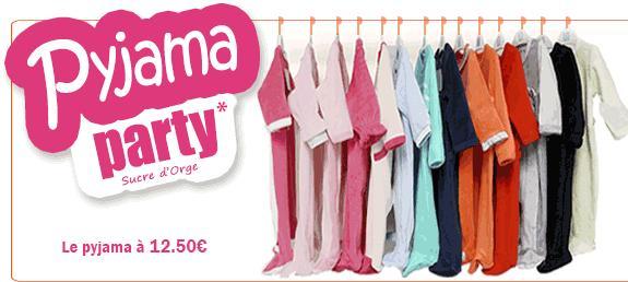 3 pyjamas pour 35€, 4 pour 40€ ou 6 pour 50€ + Livraison gratuite