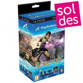 Pack découverte PlayStation Move + Manette de navigation et Sorcery