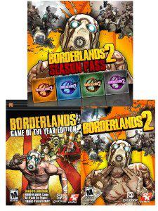 Borderlands 1 GOTY + Borderlands 2 + Season Pass sur PC (Dématérialisé)