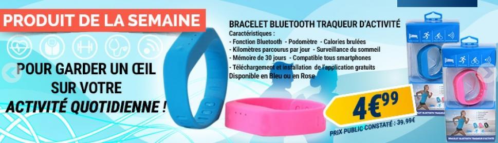 Bracelet Bluetooth traqueur d'activité
