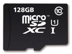 Carte microSDXC MyMemory (Integral) Classe 10 (jusqu'à 80 Mo/s) - 128 Go avec adaptateur