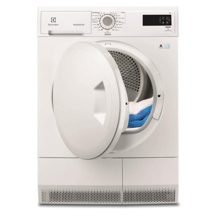 Sèche linge Electrolux EDC2086PDW + 74.75€ minimum en 2 bons d'achat