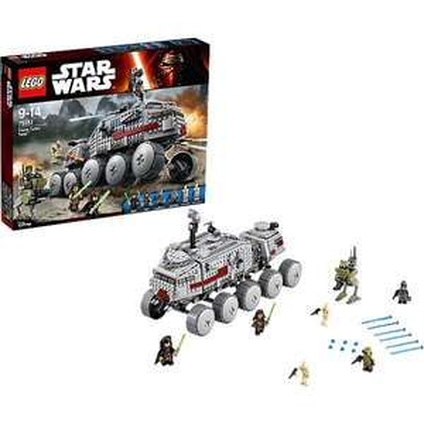 Lego 75151 Star Wars : Clone Turbo Tank + Lego 75129 Star Wars Wookiee Gunship offert