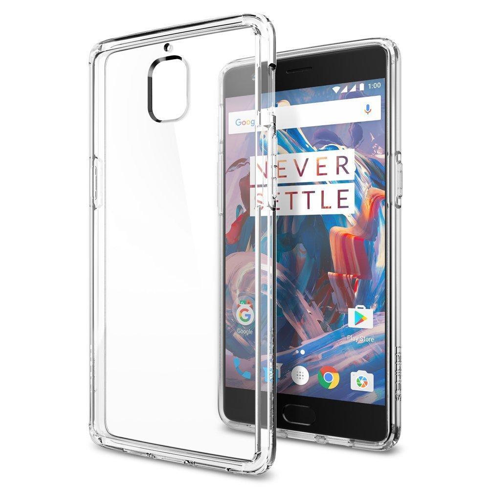 Coque Spigen Crystal Clear pour OnePlus 3