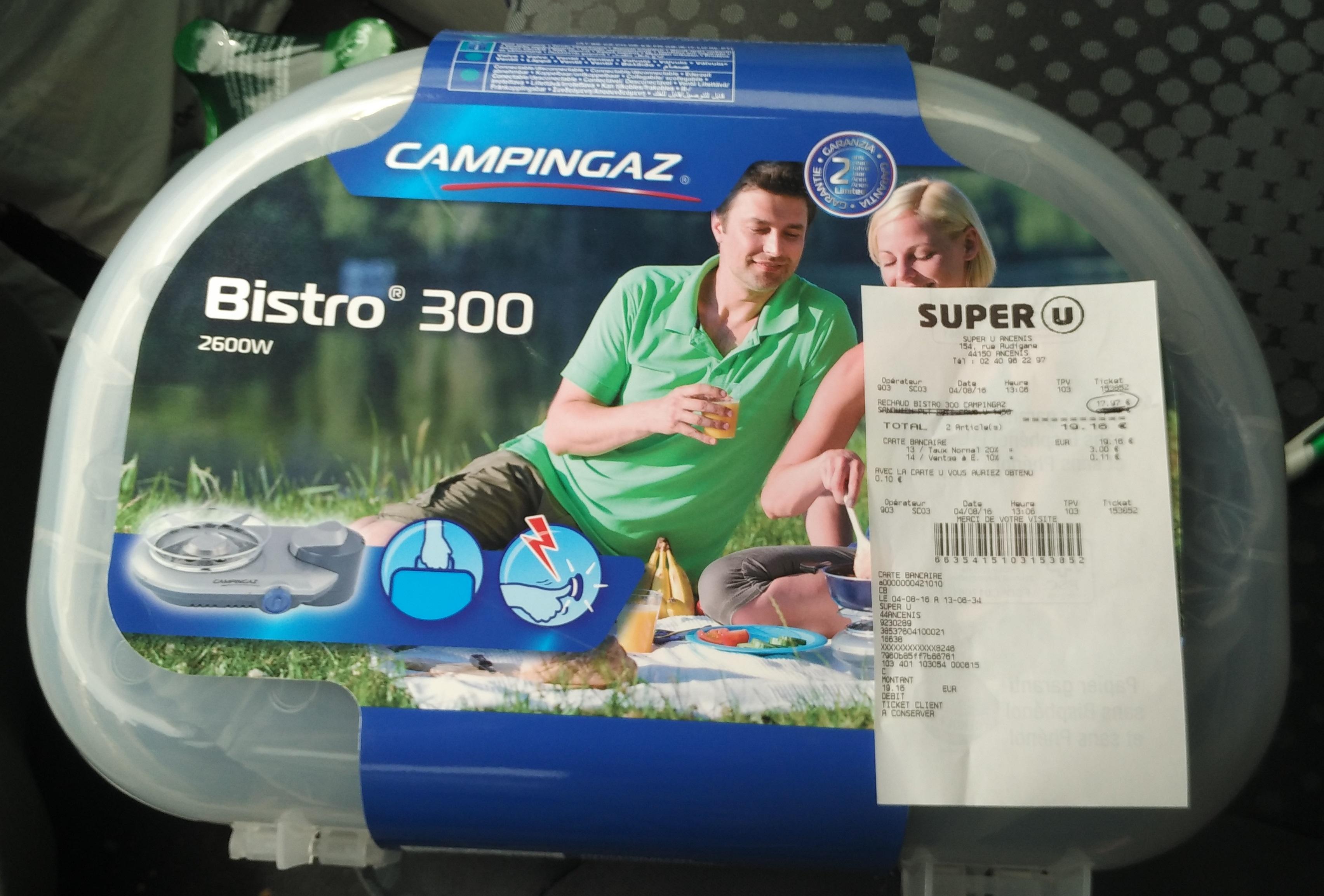 Rechaud Campingaz Bistro 300
