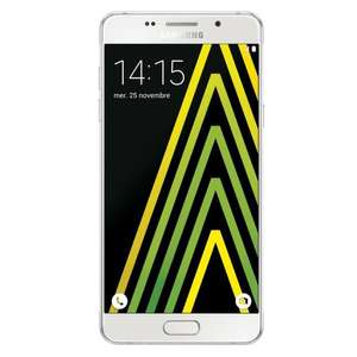 "Smartphone 5.2"" Samsung Galaxy A5 2016 Blanc (via ODR de 40€) + 130.50€ minimum en 2 bons d'achat"
