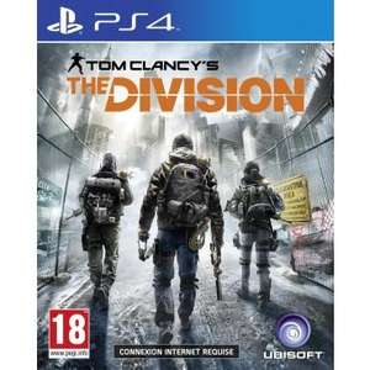 Sélection de jeux vidéos en promotion - Ex : The Division sur PS4 (via ODR de 7€)