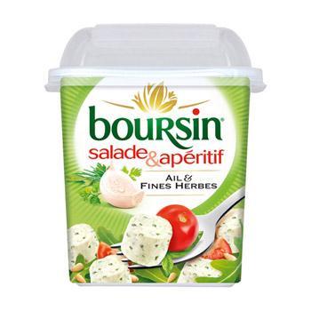 Boursin ail et fines herbes (via 0.47€ sur la carte + BDR)