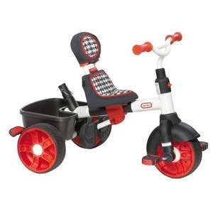 Tricycle 4 En 1 Little Tikes 634345E4 Sport Edition - Rouge/Blanc