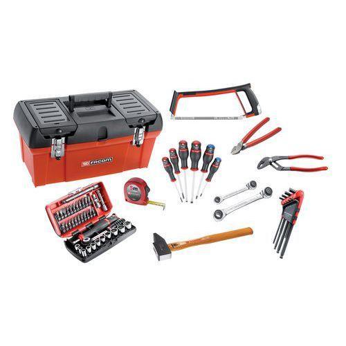 Composition d'outils Facom - 60 pièces + boîte