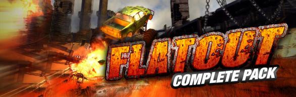 Flatout Complete Pack - 4 jeux sur PC (Dématérialisés)