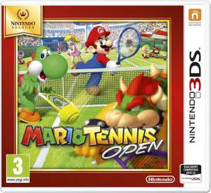Mario Tennis Open - Nintendo Selects sur 3DS