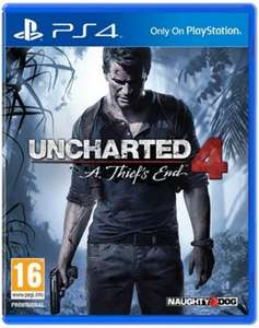 Uncharted 4 :A Thief's End sur PS4