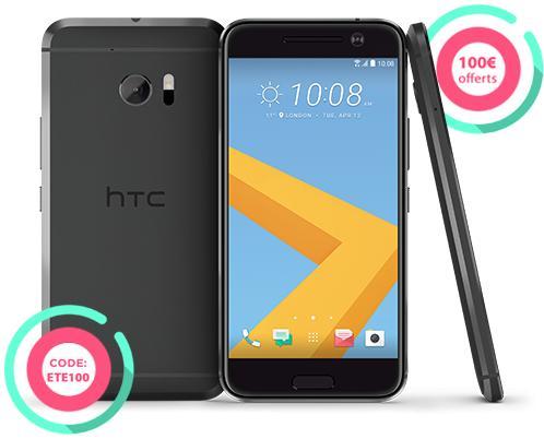 """Smartphone 5.2"""" HTC 10 - Plusieurs coloris"""