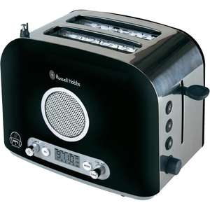 Grille pain radio MP3 noir Russell hobbs - Port inclus