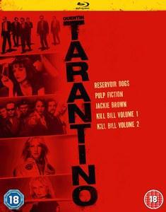 Coffret Blu-ray Tarantino 5 films (VO uniquement)