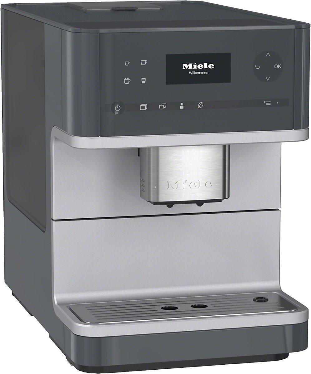 Cafetière expresso automatique Miele CM 6110 - gris graphite