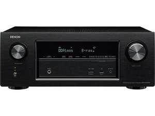 Ampli HC 7.2 Denon AVR-X2300W (Atmos et DTS:X, HDCP 2.2, MultEQ XT, Upscaling UHD, AirPlay, DSD)   noir