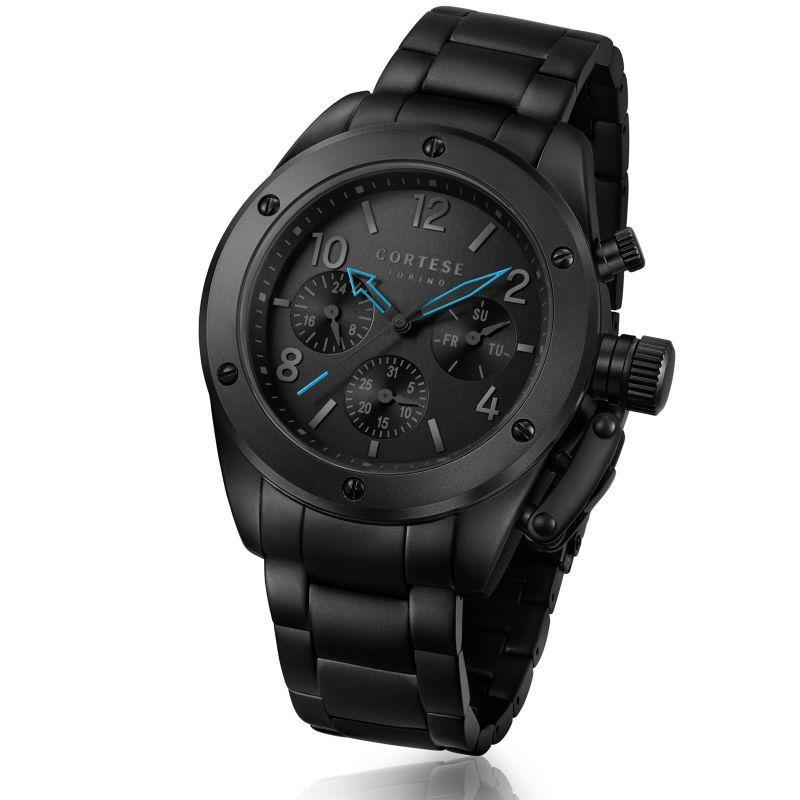 Sélection de montres Homme en promotion - Ex : Montre Cortese Torino Notturne C15003