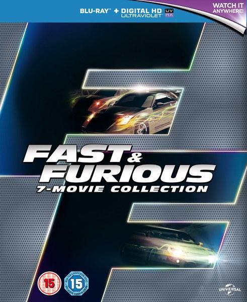 Sélection de coffrets en promotion - Ex: Coffret Blu-ray Intégrale Fast and Furious (VO uniquement pour le  4,5,6)