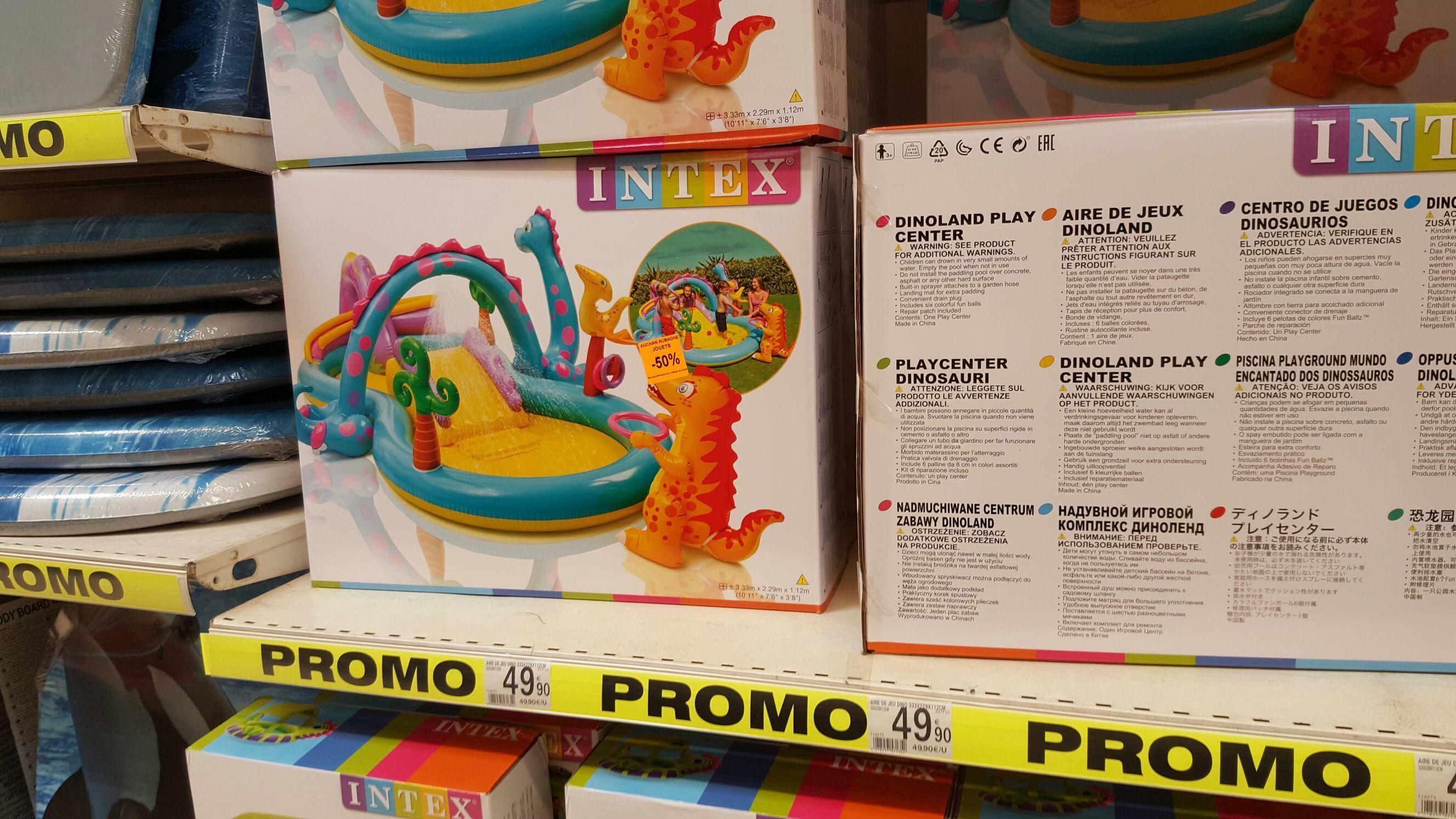 Promotion sur une sélection d'articles de jardin - Ex: Piscine aire de jeu gonflable Intex