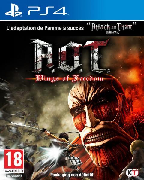 L'Attaque des Titans : Les Ailes de la Liberté sur PS4 et Xbox ONE