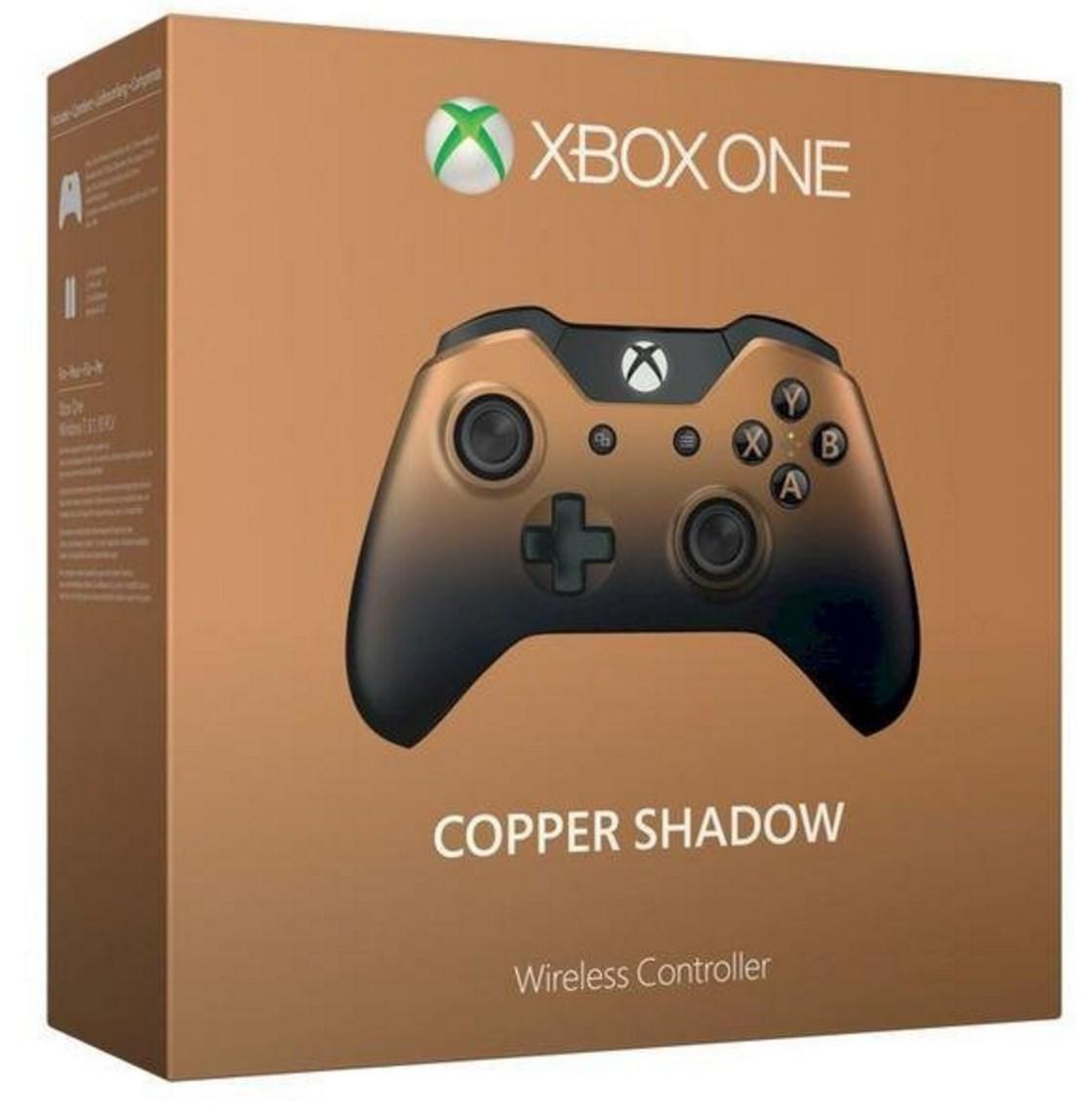 Manette sans fil 'Copper Shadow' pour Xbox One