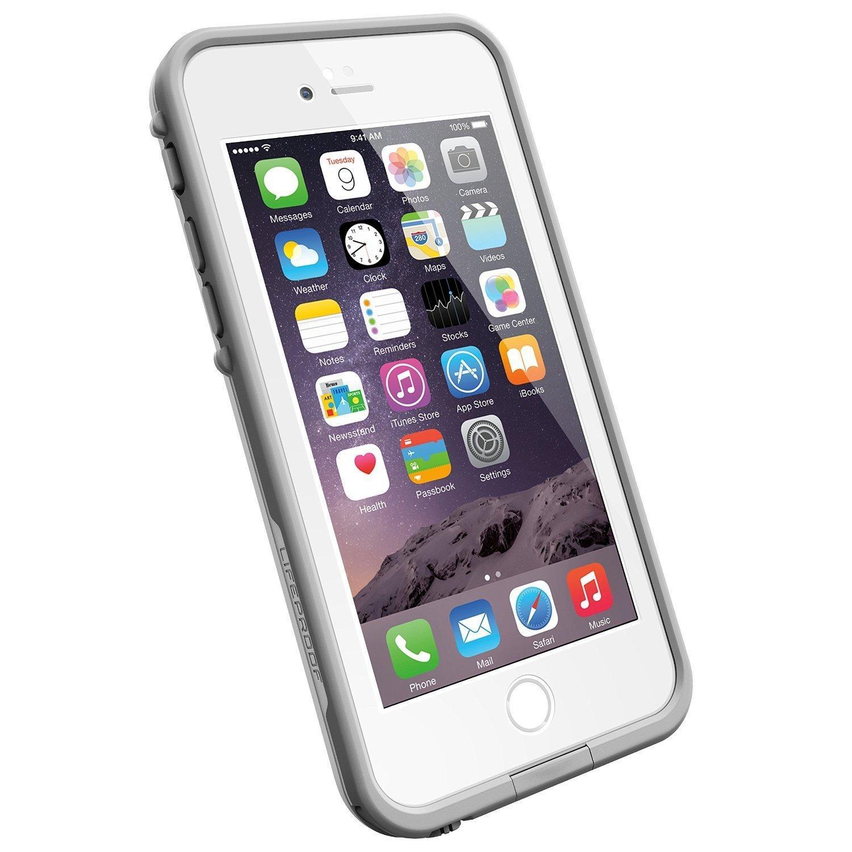 Coque antichoc et étanche Lifeproof Fre pour iPhone 6 - Blanc