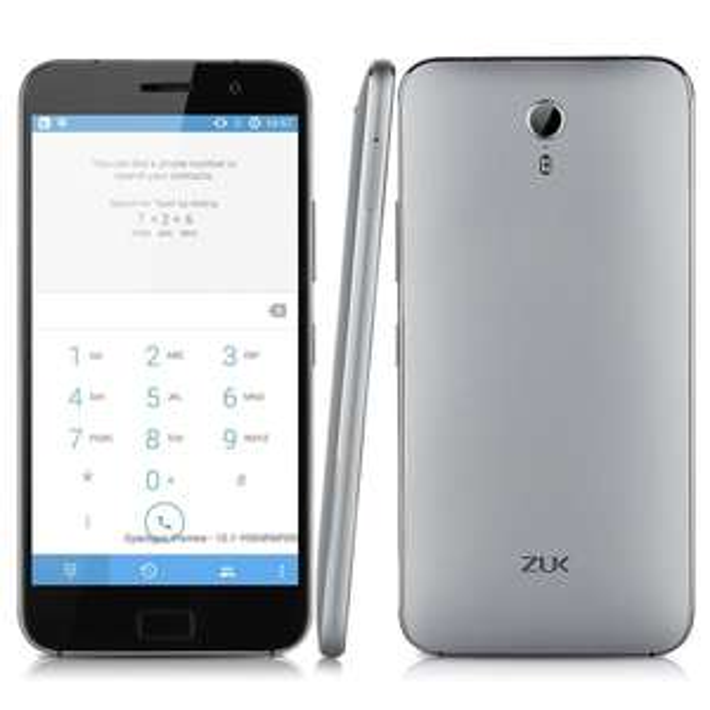 "Smartphone 5.5"" Lenovo ZUK Z1 4G - Snapdragon 801, 3 Go RAM, 64 Go ROM"