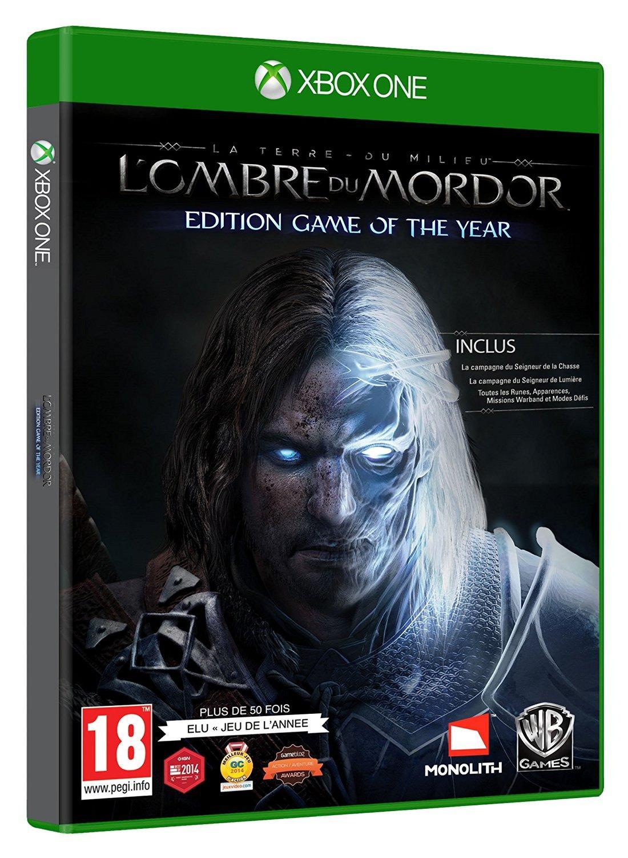 Sélection de Jeux Xbox One en Promo - Ex : La Terre du Milieu : L'Ombre du Mordor - Edition GOTY