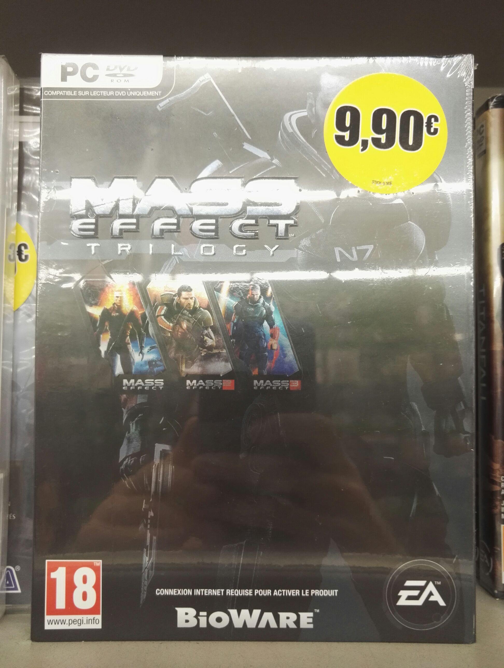 Trilogie Mass Effect sur PC