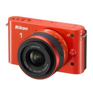 Appareil photo Nikon One J2 + 10-30mm f3.5-5.6 stabilisé VR (avec ODR 50€)