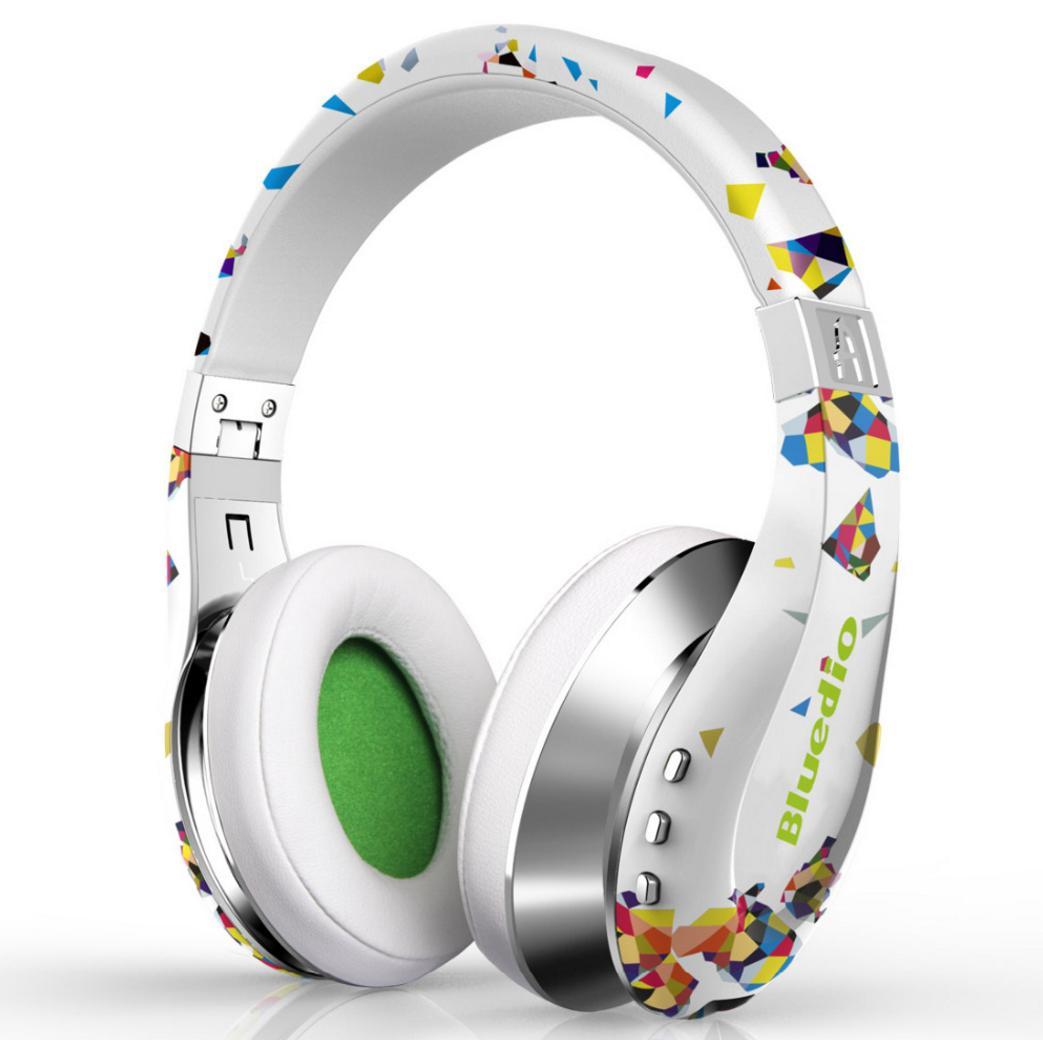 Casque Sans-fil pliable Bluedio Air avec microphone (Coloris au choix) - Bluetooth, 3D Surround