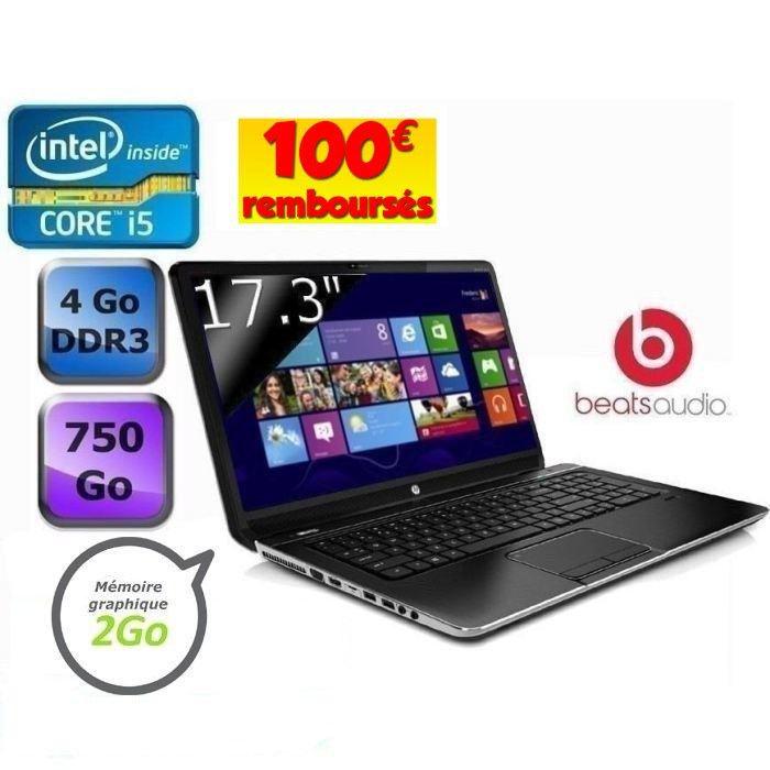 "PC Portable 17.3"" ENVY DV7-7269SF HD+ LED i5-3210M - 4 Go (Avec 2 ODR 100€ HP + 100€ Cdiscount)"