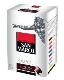 Lot de 3 paquets de capsules de café San Marco (compatibles Nespresso, panachage possible)