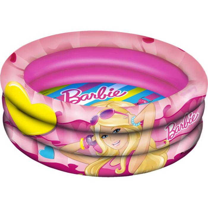 Piscine gonflable Barbie 150 cm + un jouet de bain offert