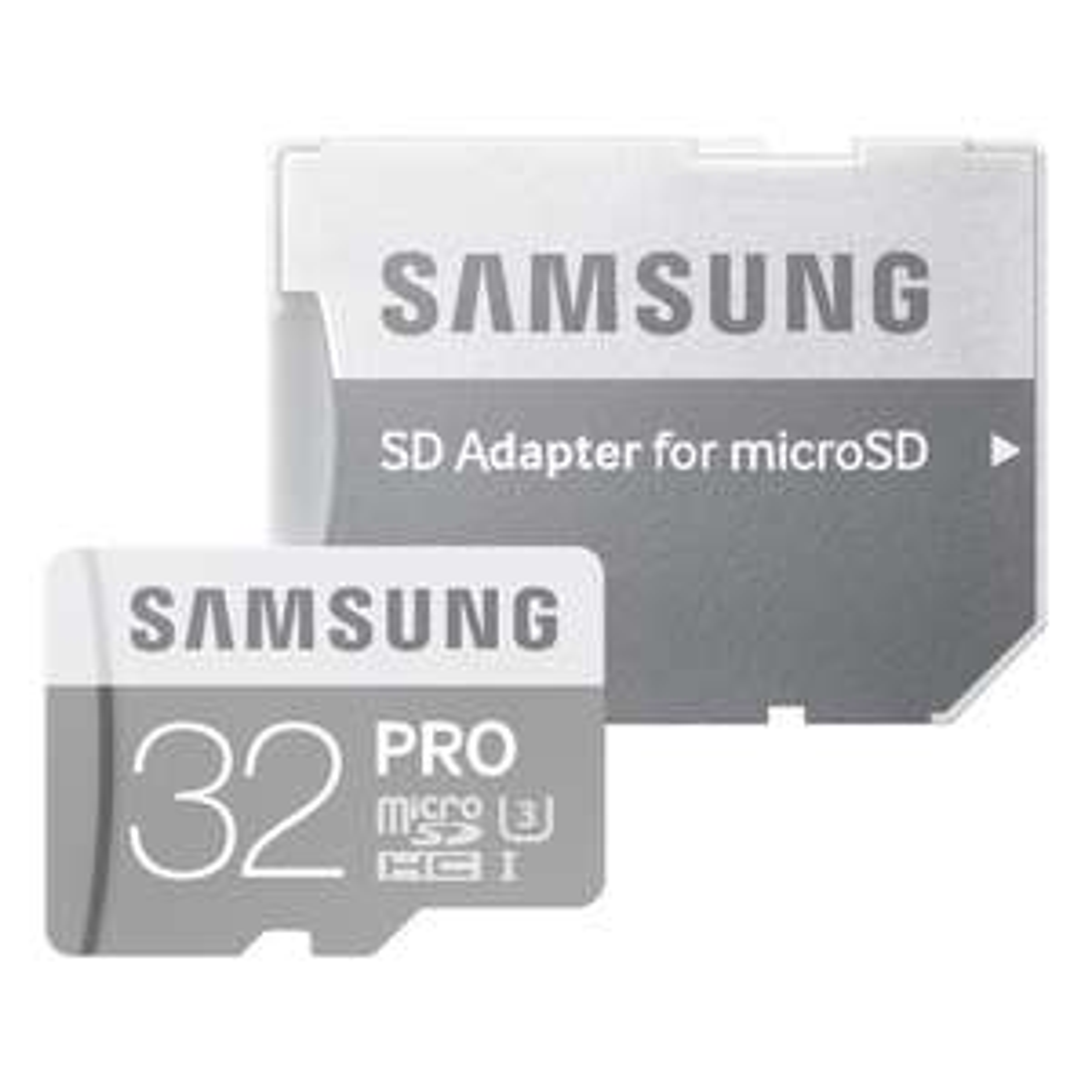 Séléction de cartes mémoires microSDHC et microSDXC Samsung en promotion - Ex : microSDHC Samsung Pro 32Go classe 10 + adaptateur