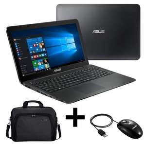 "PC Portable 15,6"" Asus X554LA-XX2888 - HD, i3-4005U, RAM 4Go, 500Go, Windows 10 + Sacoche + Souris"