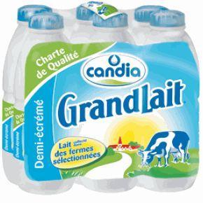 Pack de Candia Grandlait (Date de validité courte) - 6 x 1L