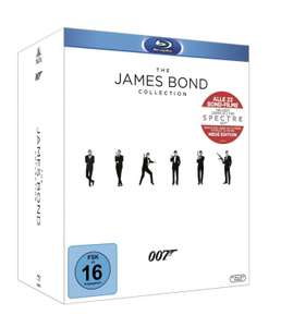 Coffret intégral Blu-ray James Bond 23 Films (Import Allemand)