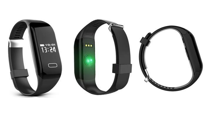 Bracelet Sans-fil connecté Sport avec mesure de la fréquence cardiaque - Bluetooth