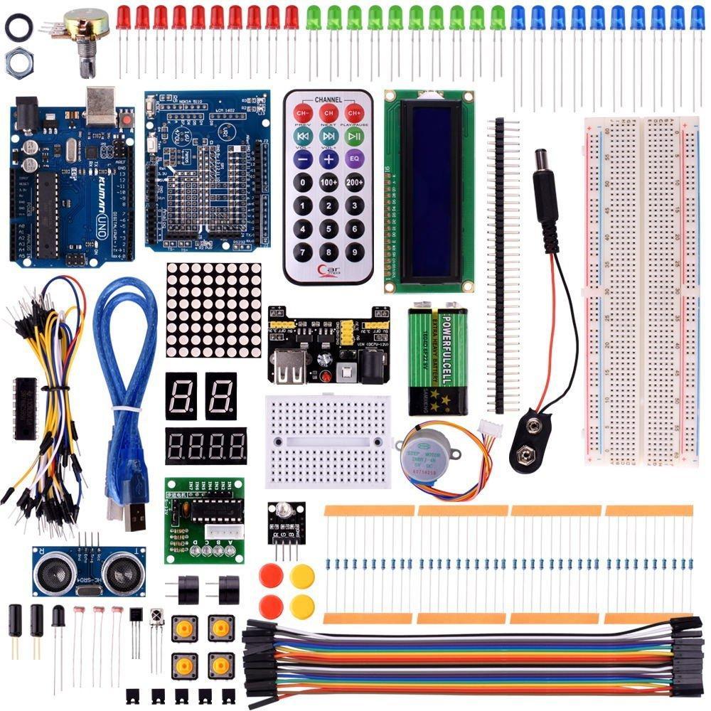 Kit de démarrage Kuman K4-UK pour Arduino - 40 pièces