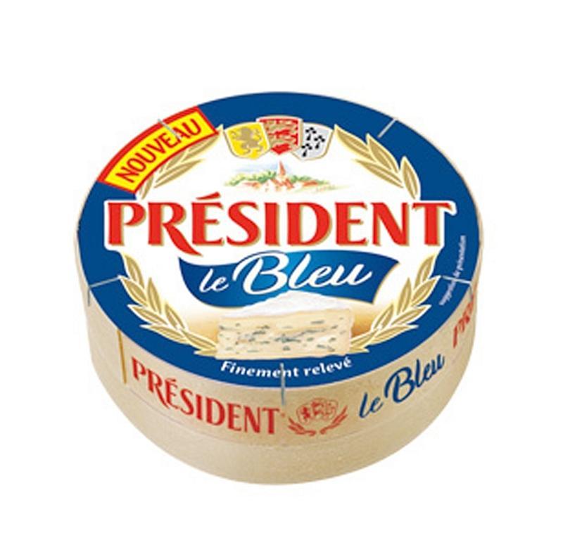 Lot de 2 fromages Président Le Bleu - 145 g (via 1.56€ sur la carte de fidélité + BDR)
