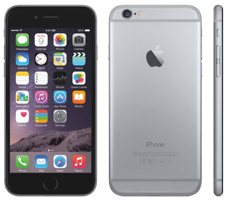 "Smartphone 4.7"" Apple iPhone 6 - 16 Go, gris sidéral, reconditionné"