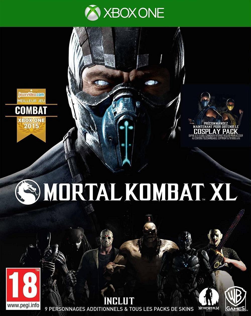 Mortal Kombat XL Edition Complète sur Xbox One + 23,47€ en bon d'achat