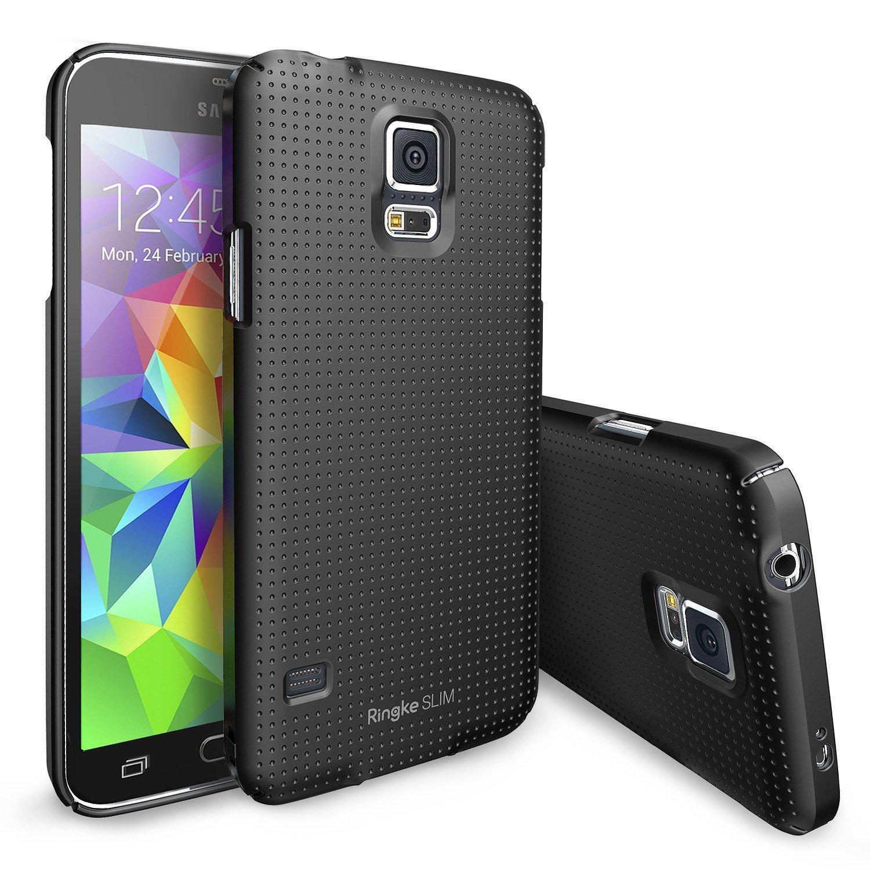 Coque de protection Ringke RSSG005 pour Smartphones Samsung Galaxy S5 - Noir