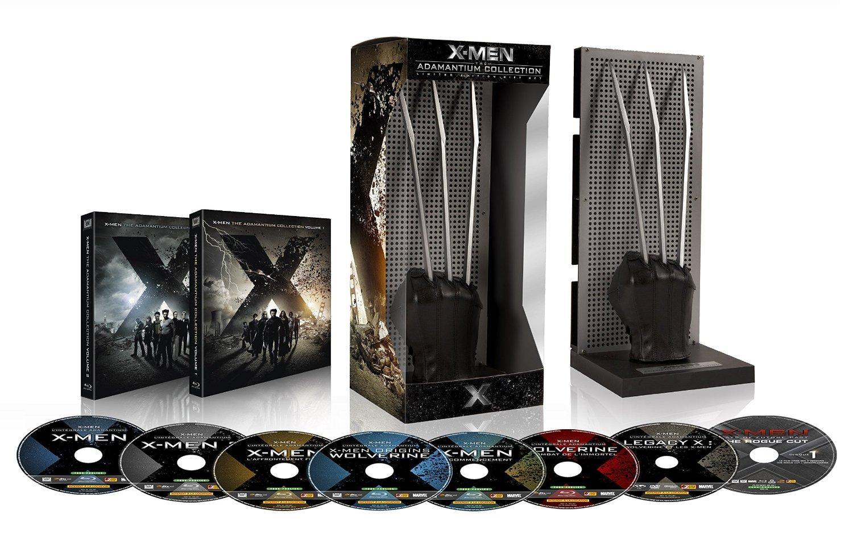 Coffret Blu-ray X-Men et Wolverine : L'intégrale des 7 films en Édition Limitée Adamantium